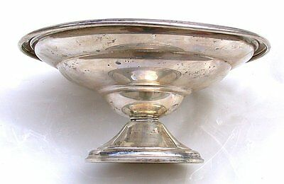 6 3/8 Inch Berkeley Weighted International Sterling Silver Compote Dish AS103