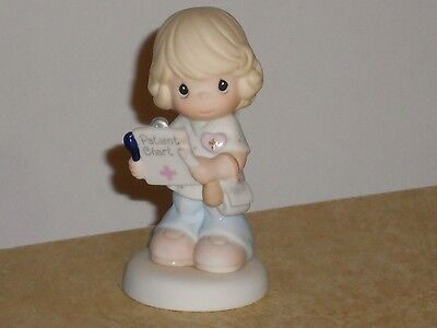 Precious Moments Figurine 2001 NURSES Are Blessed with Patients 101554