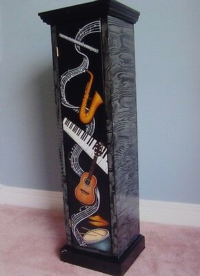 """Lydia Steeves tole painting pattern packet """"CD Cabinet"""""""