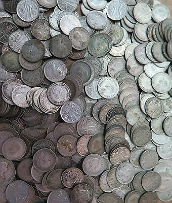 Australian Silver Post Threepence (3d) Bulk Lot of Coins x 100 ....1946-1964