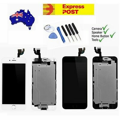 For iPhone 6 6 Plus LCD Touch Screen Digitizer Replacement Assembly +Home Button