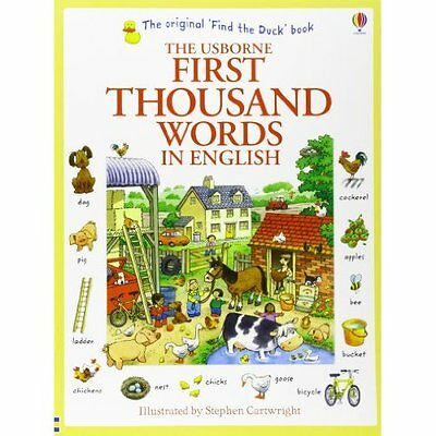 First Thousand Words in English (Usborne First Thousand - Paperback NEW Heather