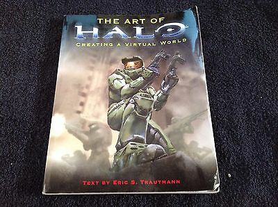 The Art of Halo: Creating a Virtual Masterpiece by Trautman, Eric S. Paperback