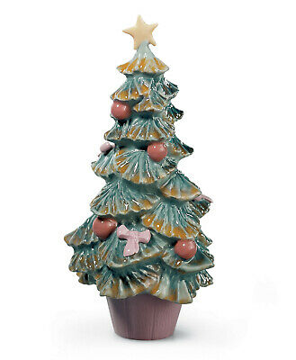 New Lladro #6261 Christmas Tree Brand New In Box Holiday Winter X-Mas Save$ F/sh
