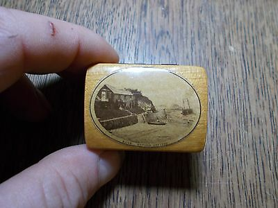 Antique  Mauchline Small Box Bude Efford Cottage