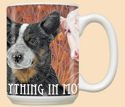 15 oz. Ceramic Mug (PS) - Australian Cattle Dog MU998