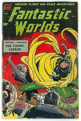 Fantastic Worlds #6 VG+ Pre-Code Space Age Cover
