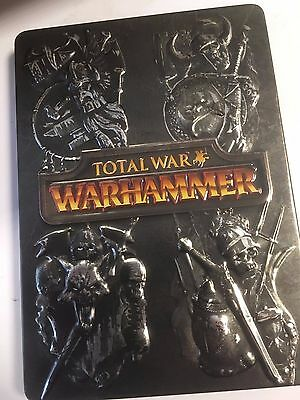 * TOTAL WAR WARHAMMER  * Steelbook Case + Manual Only * NO GAME *