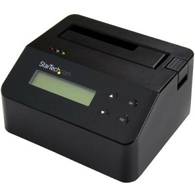 NEW Startech SDOCK1EU3P2 Standalone Drive Eraser and Dock for 2.5/3.5in SATA
