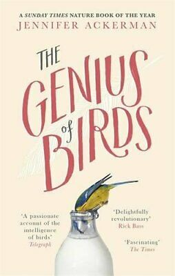 The Genius of Birds by Ackerman, Jennifer Book The Cheap Fast Free Post