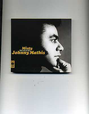 Johnny Mathis - Misty - The Best Of - 2 Cds - New!!