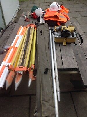 Surveying Equipment, Optical levels, Staff, Pole Etc