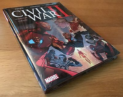 New Sealed Civil War Ii Bendis Hardcover Graphic Novel Comic Book Marvel Omnibus