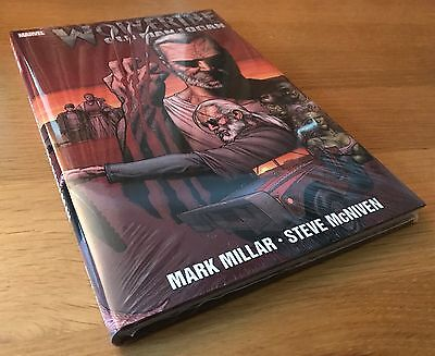 New Sealed Old Man Logan Hardcover Graphic Novel Comic Marvel Omnibus Wolverine