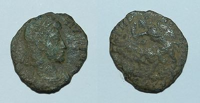 ANCIENT ROME :  CONSTANTIUS II BRONZE 4th Century A.D. #4