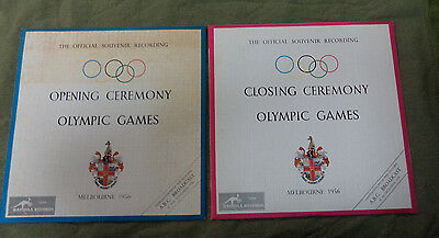 #zz7. 1956 Olympic Opening & Closing Ceremony Records