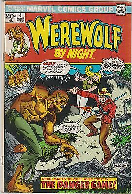Werewolf by Night #4, Marvel Comics