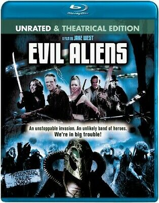 Evil Aliens [New Blu-ray] Ac-3/Dolby Digital, Dolby, Rated , Unrated, Widescre