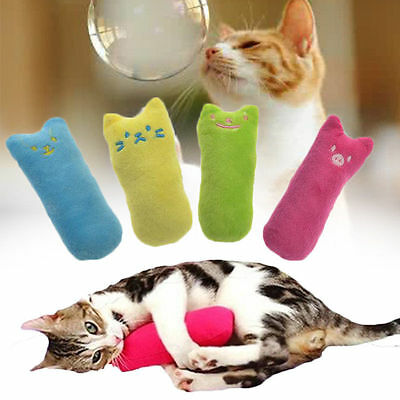 Funny Interactive Catnip Cat Pillow Toy Teeth Grinding Claws For Pets Toys New