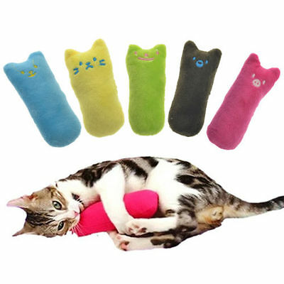 Cat Pillow Interactive Fancy Catnip Toy Teeth Grinding Claws For Pet Funny Toys