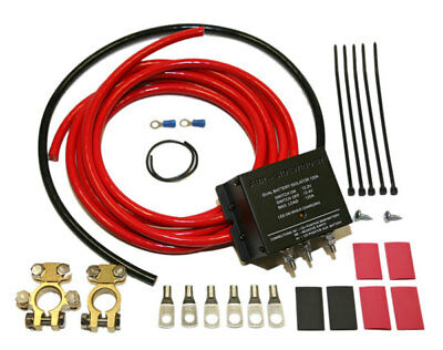 Dual Battery System 140A Full Kit Electronic Isolator - Best Diy Kit From Abr