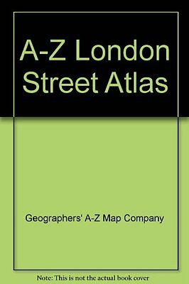 A-Z London Street Atlas-Geographers' A-Z Map Company