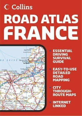 Collins Road Atlas France Paperback Book The Cheap Fast Free Post