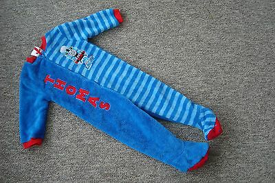 Thomas The Tank Engine All In One Sleep Suit Onsie Age 18-24 Months