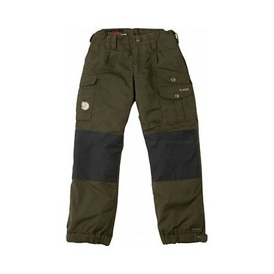 Fjäll Räven Kids Vidda Padded Trousers,dark olive,warm,waterproof