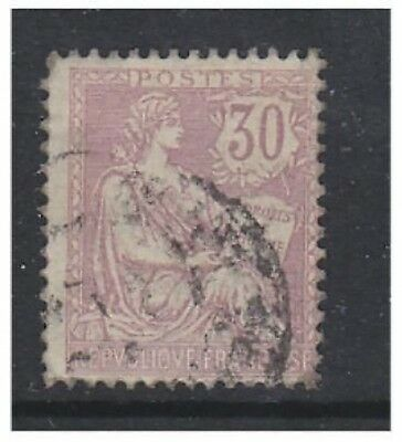 France - 1902, 30c Mouchon - Used - SG 313