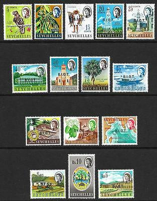 British Indian Ocean Territory 1968 Set to 10r (MNH)