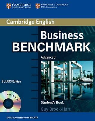 Business Benchmark: Advanced Student's Book [With CDROM] by Guy Brook-Hart (Engl