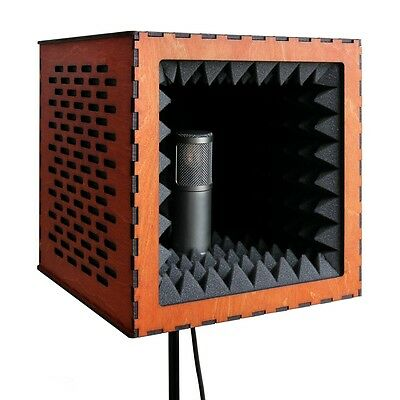 Vocal Booth Microphone Windscreen Shield Isolation Reflection Pop Filter Screen