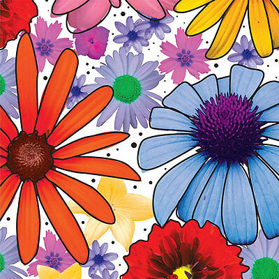 Summer Garden Tissue Paper Multi Listing 500x750mm
