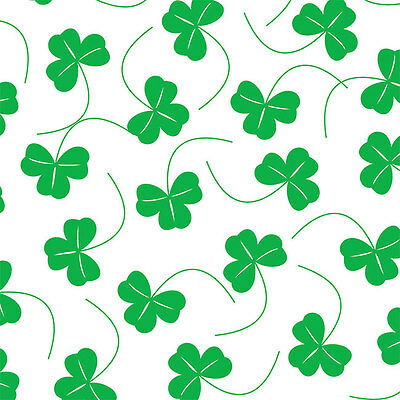Shamrocks Print Tissue Paper Multi Listing 500x750mm