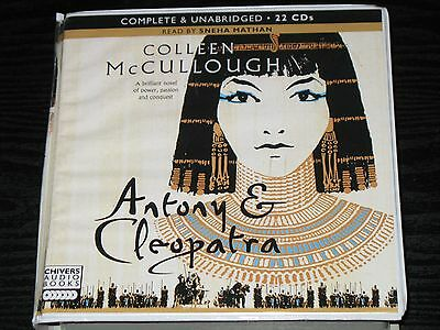 ANTONY & CLEOPATRA by COLLEEN McCULLOUGH  -  UNABRIDGED 22  CD AUDIO BOOK