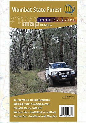 Meridian Maps - Wombat State Forest 4Wd - 4Th Edition