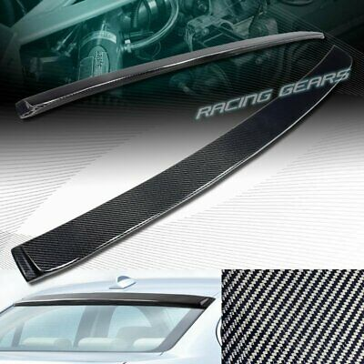 Fits: BMW E90 3series 04-11 4dr Rear Roof Window Spoiler Made in USA 244R