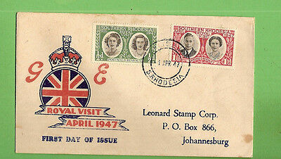 #d314. Southern Rhodesia  Envelope  Produced For 1947 Royal Visit