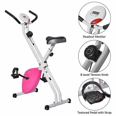 Upright Exercise Bike Magnetic Resistance Cardio Workout Stationary Home GYM