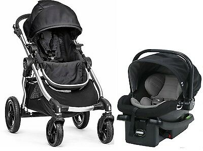 Baby Jogger City Select Travel System Stroller with City Go Infant Car Seat Onyx