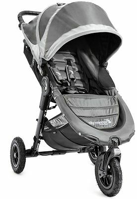 Baby Jogger City Mini GT Compact All Terrain Stroller Steel Gray NEW