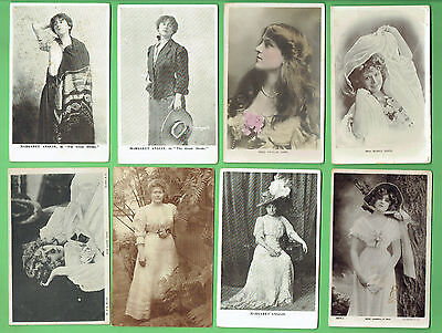 #D314. #1.  Eight Lady Postcards