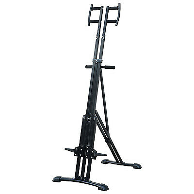 Soozier Adjustable Vertical Climber Home Cardio Exercise Stepper Folding Fitness