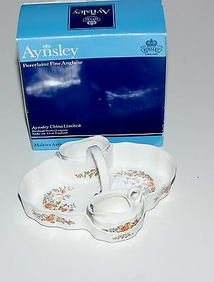 Aynsley Strawberry Basket, Boxed.