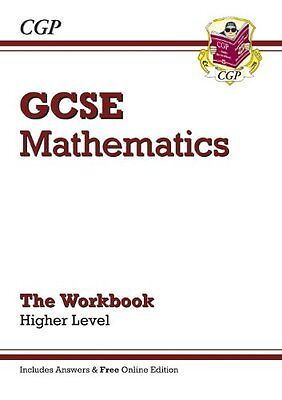 GCSE Maths Workbook with answers and online edition - Higher (A*-G Resits)-CGP