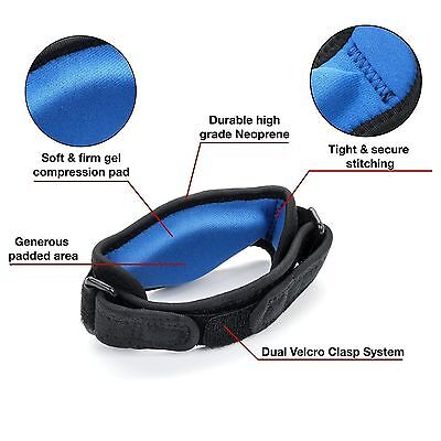 Tennis Golf Elbow Support Brace Strap Band Forearm Protection Tendon Adjustable