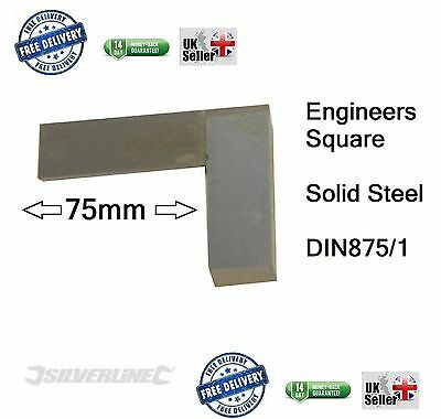 "Engineers Square, Set, Metal, Steel, Precision, approx 75mm 2"" or 2 inch small"