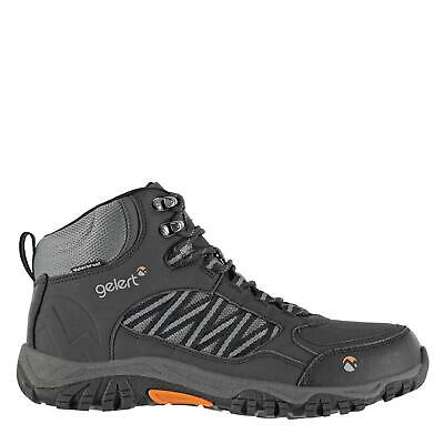 Gelert Mens Horizon Waterproof Mid Walking Boots Lace Up Shoes Outdoor Mesh