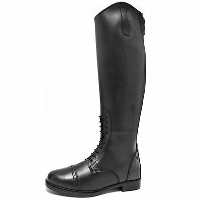 Requisite Womens Verwood Boots Elasticated Full Zip Sports Equestrian Shoes